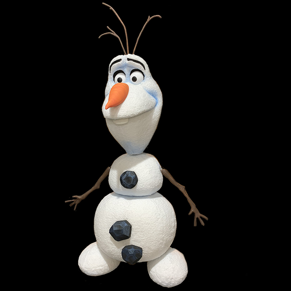 Olaf Snowman Puppet